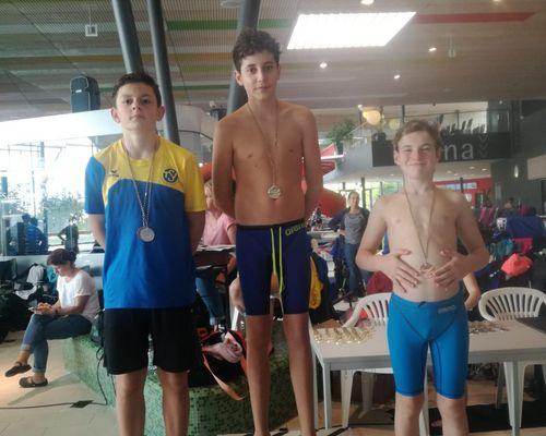 Schwimmen: Auswertung des Heimwettkampfes im F3